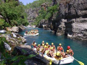 Köprülü Kanyon Rafting Turu