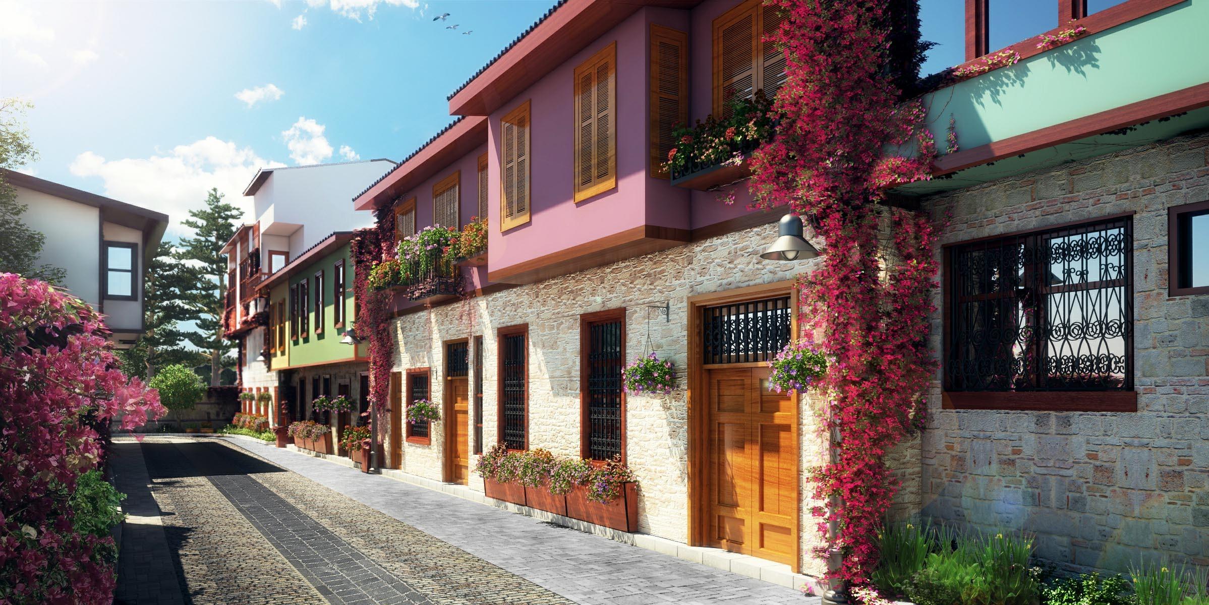 Antalya Kaleiçi Sokakları