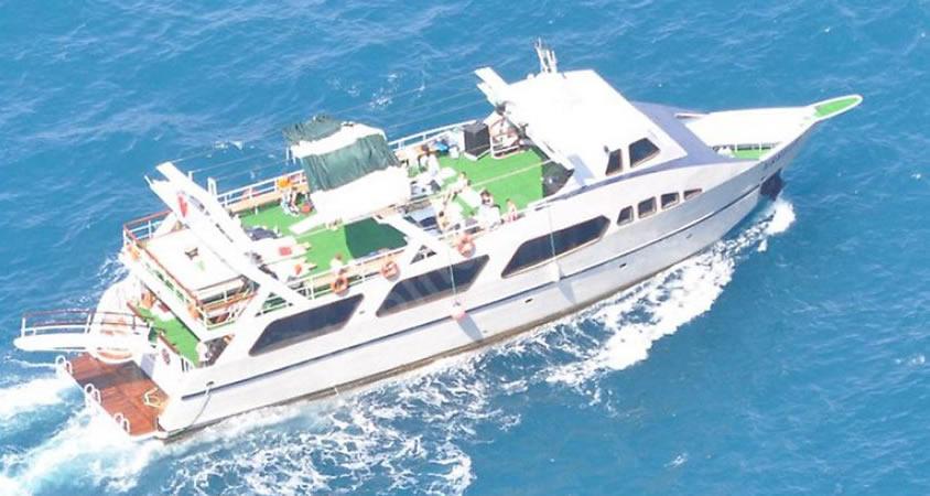 Daha büyük tekne ile denizde parti!