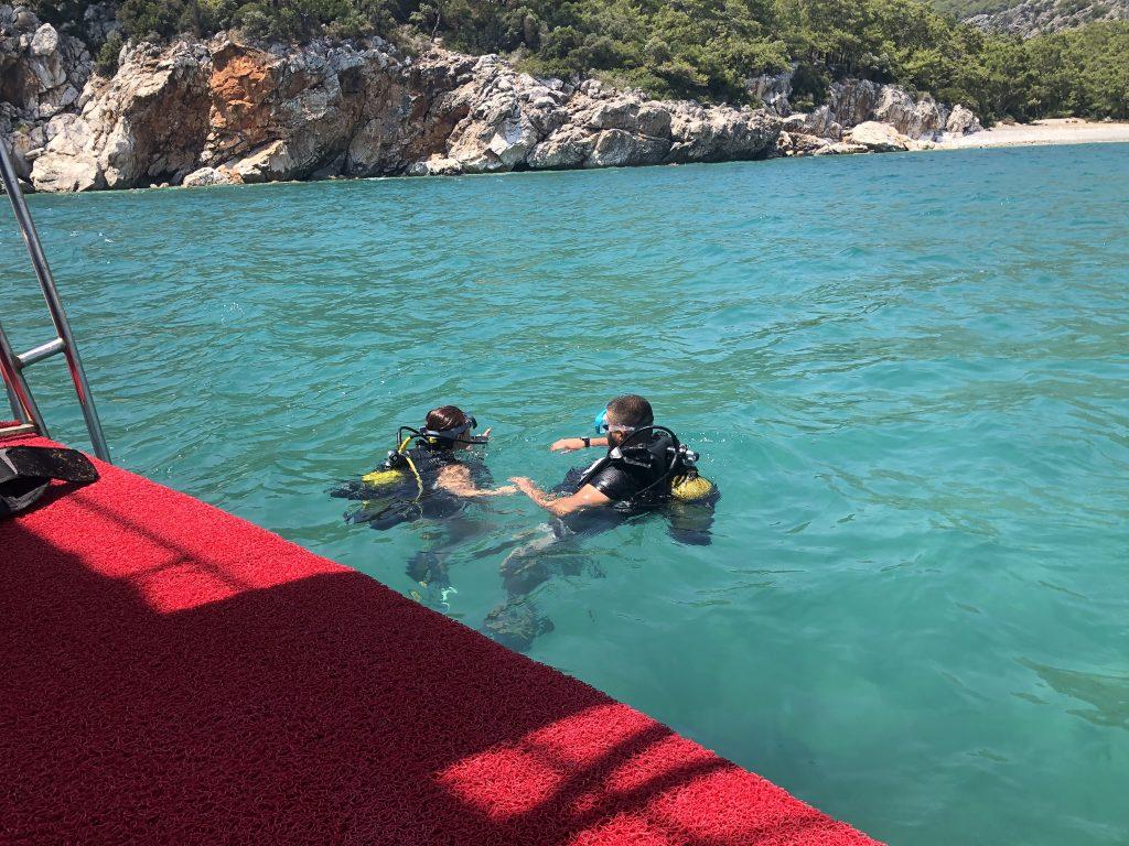 Antalya Scuba Dalış Turu